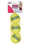 Теннисный мяч для собак «Kong», очень маленький (в упаковке 3 шт.), 4 см.