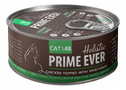 Prime Ever Chicken Topped With Vegetables 80 гр./Цыпленок с овощами в желе влажный корм для кошек
