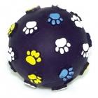 "Dezzie 5604000//Деззи игрушка для собак Мяч ""Лапы"" 8 см"