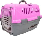 HOMEPET переноска для животных розовая/48х32х32 см