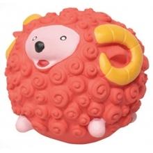 "Dezzie 5620061//Деззи игрушка для собак ""Рыжий барашек"" 7 см"