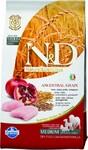 Farmina N&D Low Grain Chicken & Pomegranate Adult 2,5 кг./Фармина сухой корм для собак Спельта, овес, курица, гранат.
