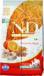 Farmina N&D Low Grain Codfish & Orange Adult 2,5 кг./Фармина сухой корм для собак Треска и апельсин мелк породы
