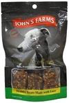 JOHN'S FARMS Duck Rice Bones//лакомства косточки из утки и риса для собак 80 г
