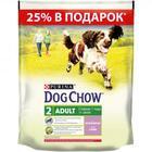 Dog Chow Adult 600 гр.+200 гр. гр./Дог Чау сухой корм для взрослых собак с ягненком