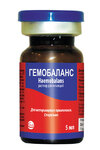 Гемобаланс 5 мл./Дополнительное парентеральное питание для животных и птицы