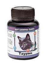 ВАКА 80 таб./Витамины для кошек с Таурином