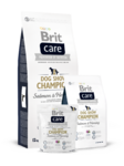 Brit Care Dog Show Champion 12 кг./Брит Каре сухой корм для шой собак лосось и сельдь гипоаллергенная формула