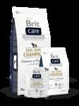 Brit Care Dog Show Champion 3кг./Брит Каре сухой корм для шой собак лосось и сельдь гипоаллергенная формула