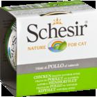 Schesir 85 гр./Шезир консервы для кошек филе курицы в собственном соку
