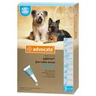 Advocate//капли для собак от 4 до 10 кг от блох и клещей 3*1 мл