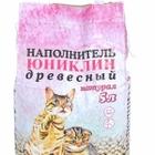 Uniclean 5 л./Юниклин Натурал  Натуральный древесный впитывающий гигиенический наполнитель для кошачьих туалетов
