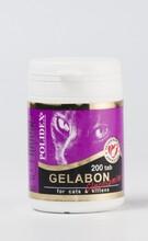 Polidex//Полидекс Гелабон с глюкозамиом витамины для кошек 200 таб.