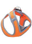 TRIOL Мягкая шлейка-жилетка нейлоновая оранжевая S,  обхват груди 360-410мм