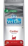 Farmina Vet Life Cat Cardiac 2 кг./Фармина сухой корм диета для кошек поддержания работы сердца при хронической сердечной недостаточности