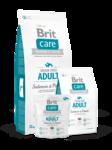 Brit  Care Salmon & Potato Adult  1 кг./Брит Каре сухой корм для взрослых собак, с лососем и картофелем