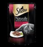 Sheba Naturalle 80 гр./ Шеба Натурал консервы для кошек с говядиной и ягненком