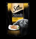Sheba Naturalle 80 гр./ Шеба Натурал консервы для кошек из курицы и индейки