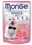 Monge Dog Grill  100 гр./Консервы для собак свинина