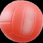 Зооник С002/Игрушка для собак Мяч волейбольный 72мм