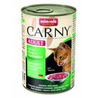 Animonda CARNY ADULT 400 гр./Анимонда Консервы для кошек с говядиной индейкой и кроликом