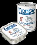 Monge Dog Monoproteico Solo 150 гр./Консервы для собак Монопротеиновые Только ягненок