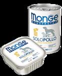 Monge Dog Monoproteico Solo 150 гр./Консервы для собак Монопротеиновые Только курица
