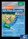 Hartz UltraGuard Plus Flea & Tick Drops Н98206//Хартс капли от блох, блошиных яиц, клещей, комаров для собак и щенков 1,8-7 кг