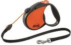 FLEXI рулетка Limited Edition Neon Reflect M (до 20 кг) трос 5 м, оранжевый (29010)