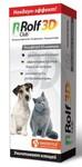 RolfClub 3D 200 мл./Рольф Клуб Шампунь от блох д/кошек и собак