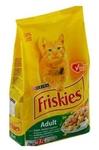 Friskies Adult 2 кг./Фрискис сухой корм для взрослых кошек с кроликом, курицей и овощами