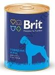Brit Premium 850 гр./Брит  консервы для активных собак Говядина и рис