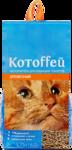 Котоffей 18 л./Котоффей наполнитель для кошек древесный