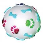 Triol/Игрушка  для собак Мяч с лапками и косточками 110мм/717001