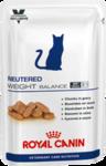 Royal Canin Neutered Weight Balance 100 гр./Роял канин консервы в фольге для стерилизованных кошек склонных к избыточному весу