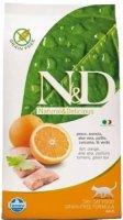 Farmina N&D Cat Fish & Orange Adult 1,5 кг./Фармина сухой беззерновой  корм для кошек с рыбой и апельсином