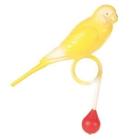 TRIXIE/Игрушка для птиц попугай с кольцом для жердочки 9см/5310