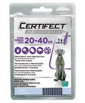Certifect Spot On//капли для собак от 20 до 40 кг от блох и клещей