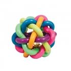 """TRIOL Игрушка для собак из ц/литой резины """"Мяч-лабиринт с колокольчиком"""", d85мм/12191062"""