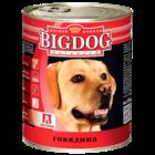 Зоогурман BIG DOG 850 гр./Консервы Биг Дог для собак говядина