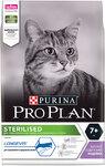 Pro Plan Sterilised +7 /3 кг./Проплан сухой корм для поддержания здоровья стерилизованных кошек с индейкой