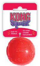 Kong игрушка для собак Сквиз Мячик средний с пищалкой 6 см/PSB2