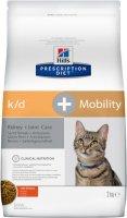 Hills Prescription Diet k/d +Mobility 2 кг./Хиллс сухой корм при заболеваниях почек и суставов