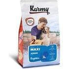 Karmy Maxi Junior Dog 2 кг./Сухой корм Индейка для щенков крупных пород