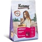 Karmy Adult Cat 400 гр./Сухой корм Телятина для взрослых кошек