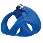 Triol /HL02S/Комплект мягкая шлейка-жилетка и поводок синий