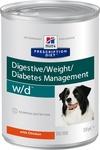 Хиллс Диета соб конс 370г W/D лечение сахарного диабета, запоров, колитов, контроль веса/8017/