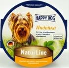 Happy Dog 85 гр./Хеппи Дог консервы для собак паштет индейка