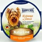 Happy Dog 85 гр./Хеппи Дог консервы для собак паштет курица и утка