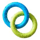 HOMEPET/ Игрушка для собак  два кольца с шипами TPR 13 см